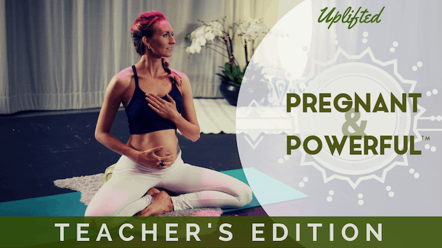 Pregnant & Powerful Teacher's Edition
