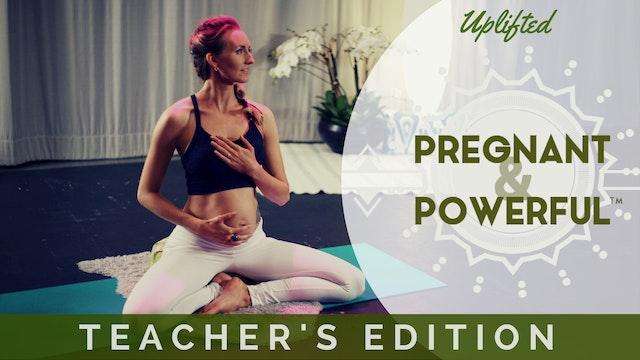 Pregnant & Powerful Teacher's Edition