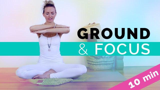 Ground & Focus | Beginner Kundalini Meditation (10 Min)