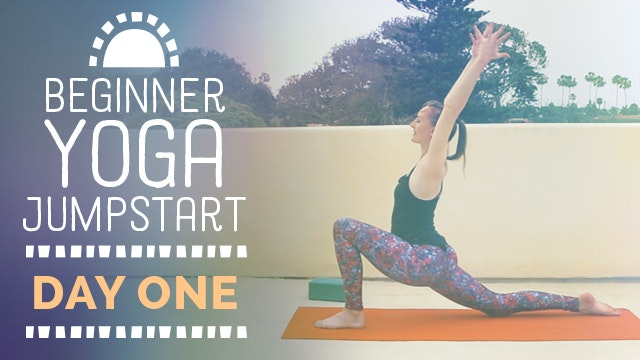 Beginner Yoga Jumpstart - Day 1
