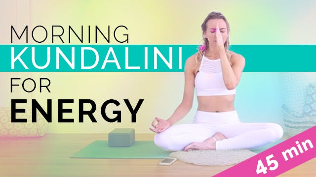 Kundalini Yoga for Energy and Radiance (45-min)