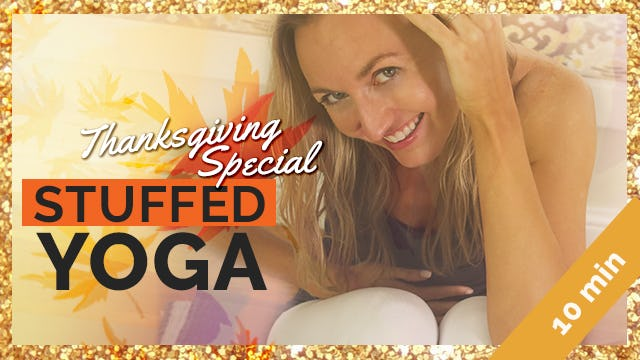 Stuffed! Easy Seated Yoga for Digestion
