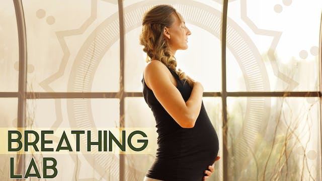 How to Breathe Fully During Pregnancy (2 min) - Tutorial