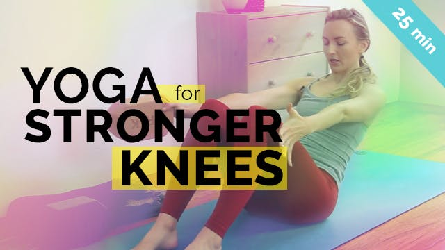 Yoga for Stronger Knees