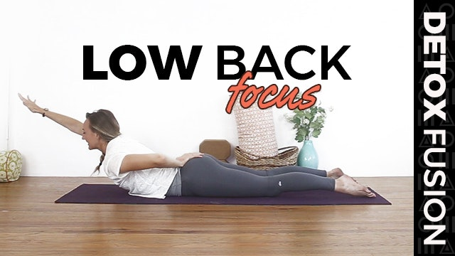 Day 12 - Lower Back Strengthening Yoga | Strengthen & Release | Vinyasa + Yin (40-Min)