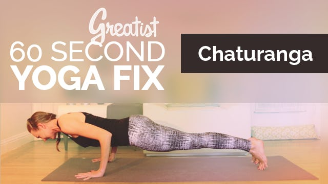How to do Chaturanga | Alignment Fix