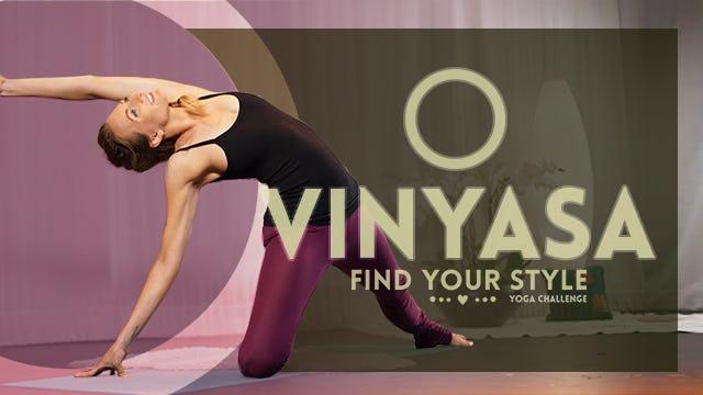 Vinyasa Flow (30-Min) | Beginner Friendly Full Body Flow