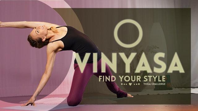 Vinyasa Flow (30-Min) | Beginner Frie...
