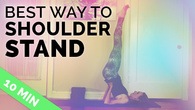 How to do Shoulder Stand Safely | Sho...