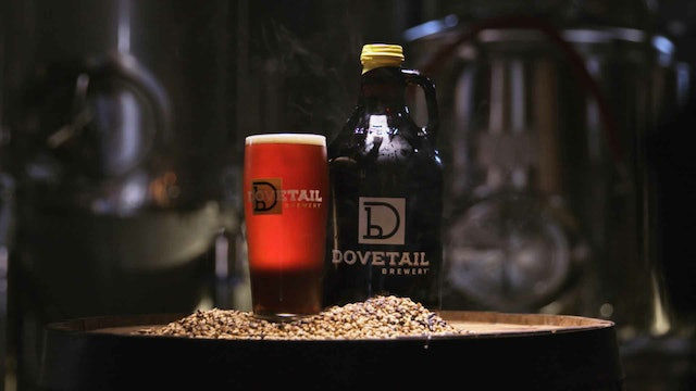 Burgers and Beers: Dovetail Rauchbier