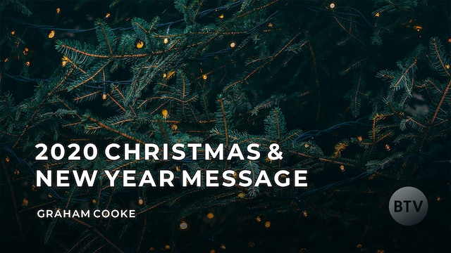 2020 Christmas & New Year Message