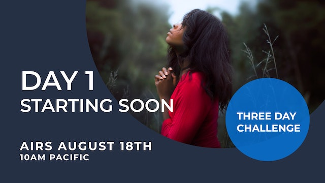 DAY 1 - Praying With God LIVE Challenge