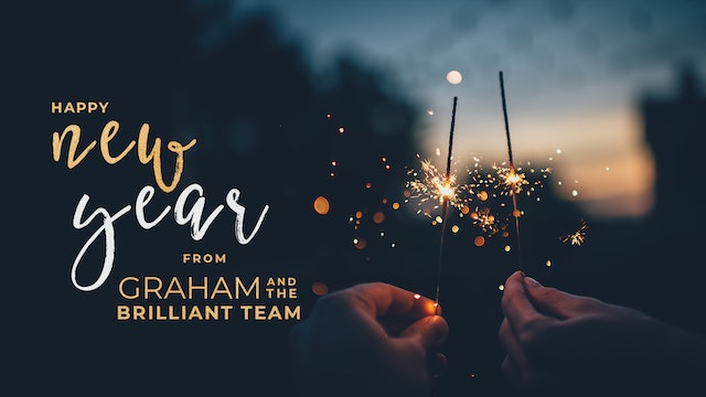 Happy New Year from Graham and Team Brilliant