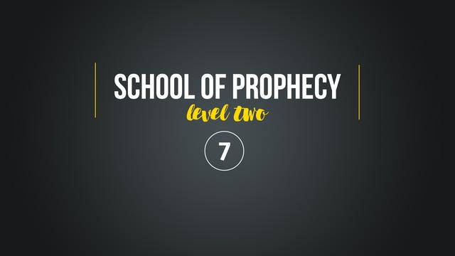 School of Prophecy Level Two: Filling...