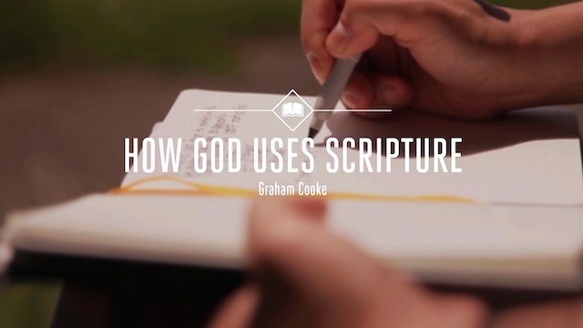 How God Uses Scripture
