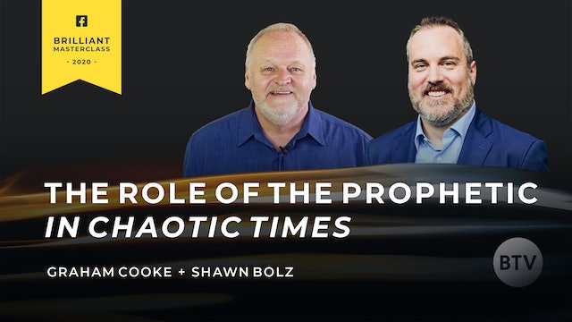 2 Day Masterclass: The Role of The Prophetic In Chaotic Times