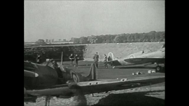 Gun Camera Action from War World Two