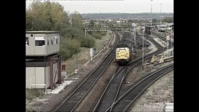 British Rail in 1990