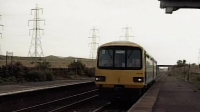 British Rail in 1990