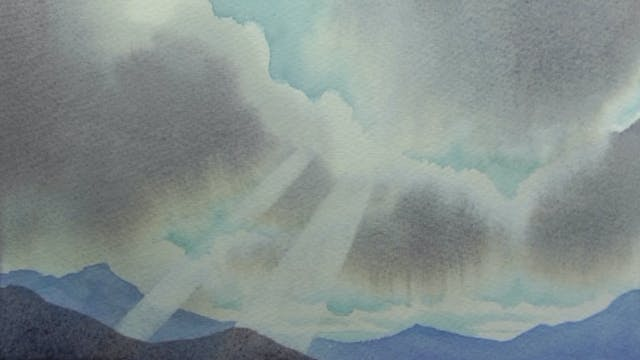 Woolley's Watercolour - Paint A Sky A...