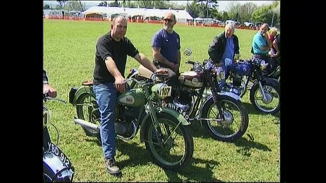 Classic British Motorcycles - BSA On Show