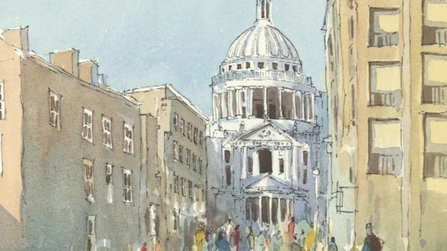 Woolley's Watercolour – Line and Wash, The Perfect Combination