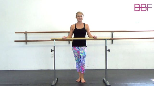 Sculpt & Tone Challenge Lower Body Barre