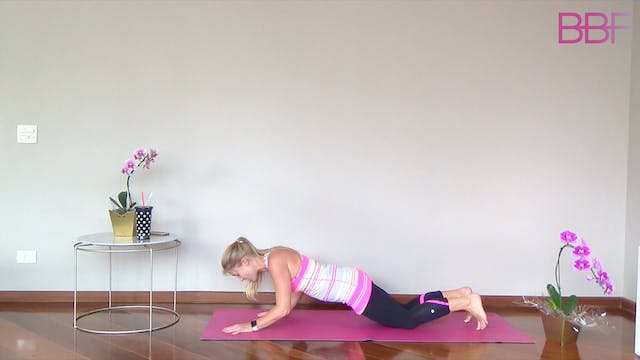 10 Minute No Equipment Upper Body