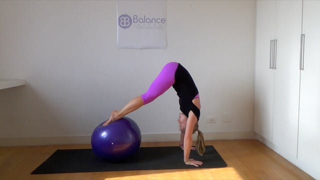Pilates with the Stability Ball