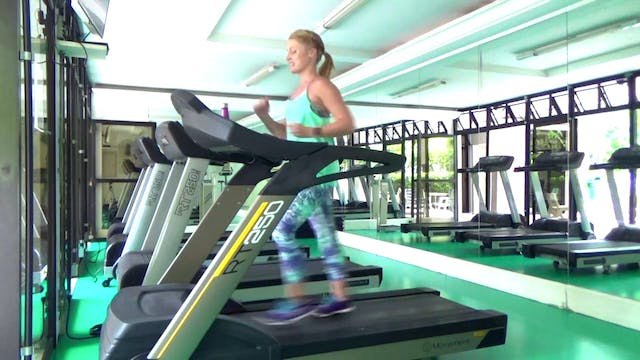 Dance Treadmill Workout