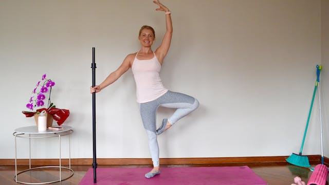 Barre with a Broom