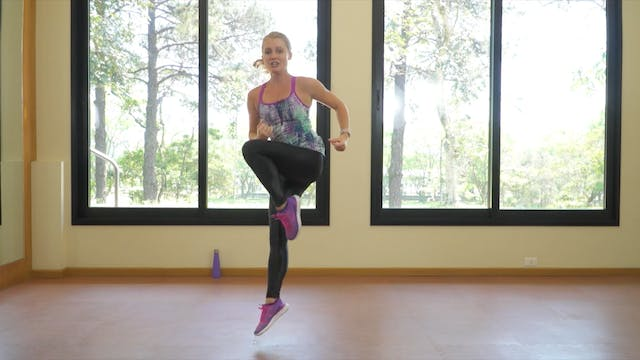 HIIT the BARRE Crazy Cardio