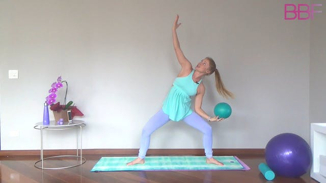 Power Barre with Ball