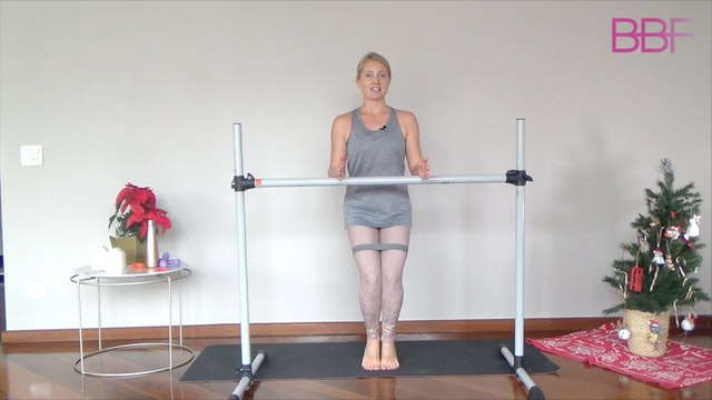 Barre with Booty Band 3