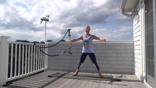 Standing Pilates Stick