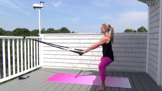 Barre Pilates Stick Fusion Workout