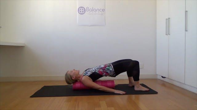 Barre & Pilates Foam Roller Fusion