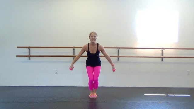 Dance Barre Toned Arms