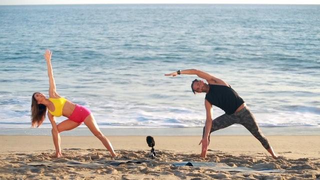 8 Min Burn with Jorge Cruise - Malibu Beach