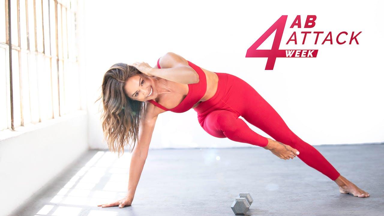 4-week Ab Attack Challenge