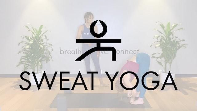 Sweat Yoga | Hanumanasana with Ivorie Jenkins