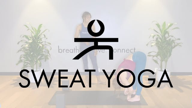 Sweat Yoga | Hanumanasana with Ivorie...