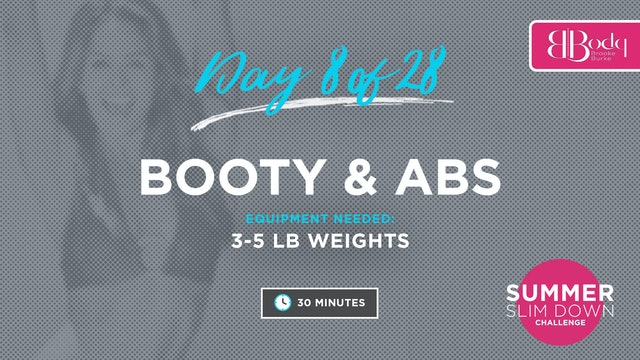 Day 8 - Booty & Abs