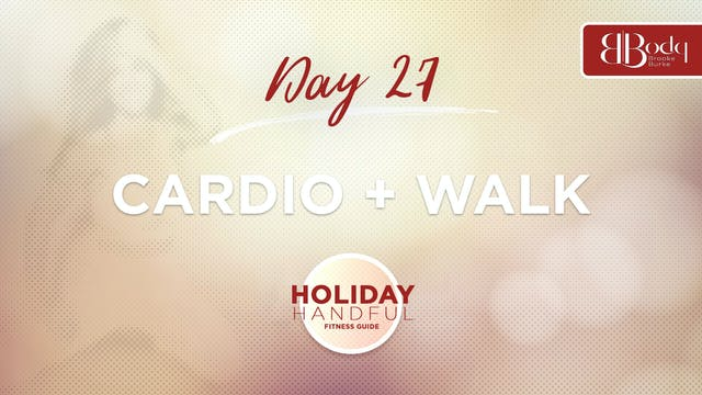 Day 27 - Cardio