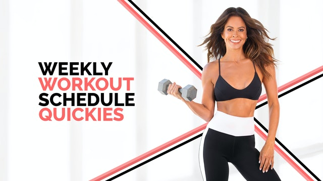 Weekly Workout Quickies (May 3 - May 9, 2021)