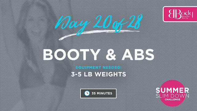 Day 20 - Booty & Abs