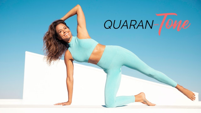 28-Day Quaran-TONE Challenge | Wellness Journal