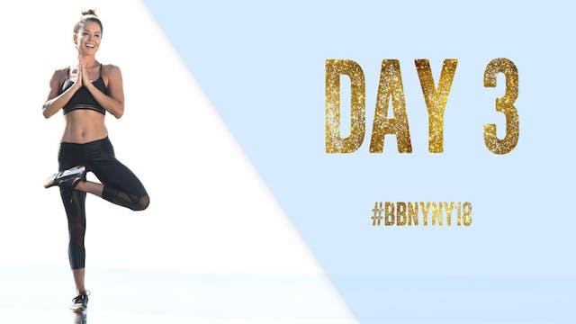 Day 3 - #BBNYNY18 Challenge