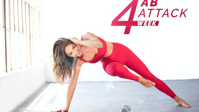 Day 13 | 4-week Ab Attack Challenge