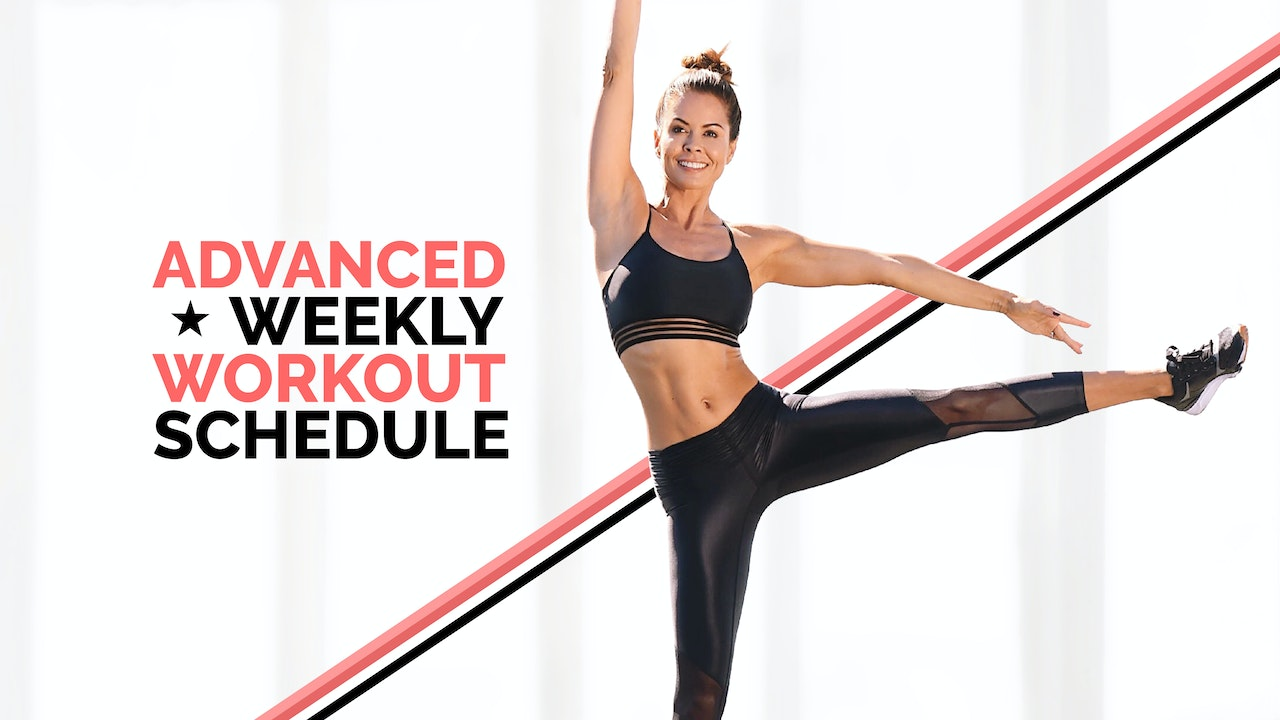 Advanced: Weekly Workout Schedule (May 3 - May 9, 2021)